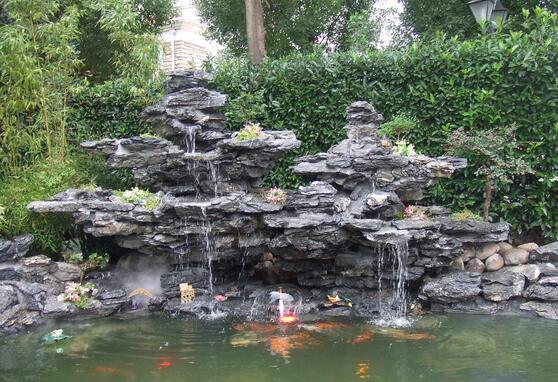 假山鱼池设计介绍 假山鱼池风水须知