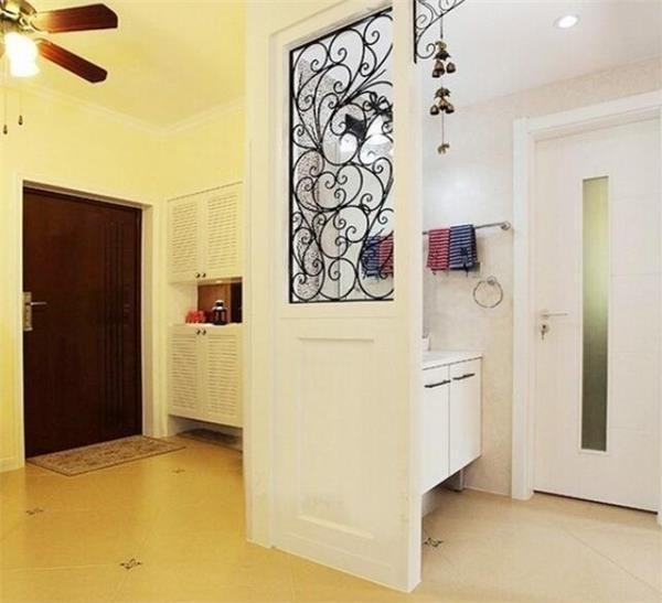 入户门正对玄关设计效果图