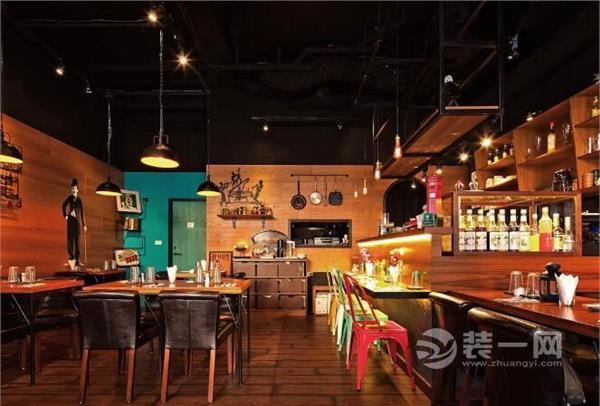 装修小酒馆复古效果图颇有韵味的欧洲平面设计基础与v酒馆图片
