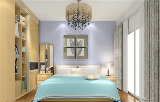 正方形小卧室设计效果图 方正的空间睡觉更舒服