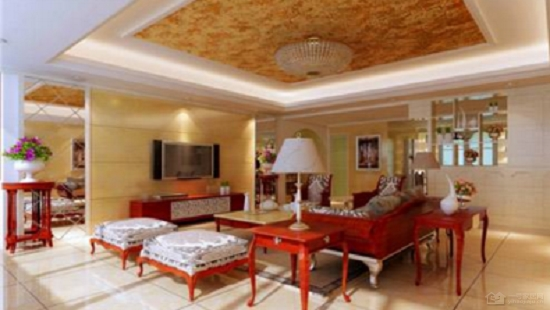 红木欧式风格客厅图片 欧式红木家俱尽显高贵大气