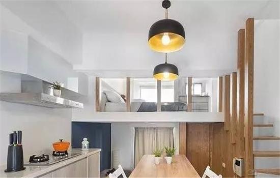 30平米公寓loft装修案例 一人小夫妻入住都好