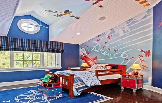 儿童卧室装修效果图 孩子的梦中乐园