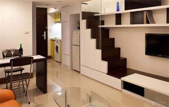 小户型客厅装修效果图 一个人生活也幸福