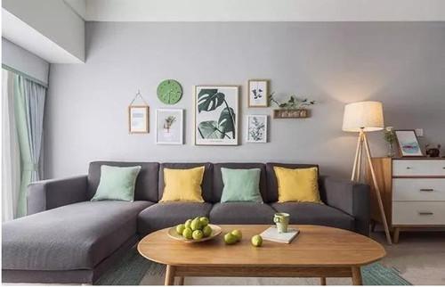 90平米房屋装修效果图 带你感受精美时尚的小户型空间