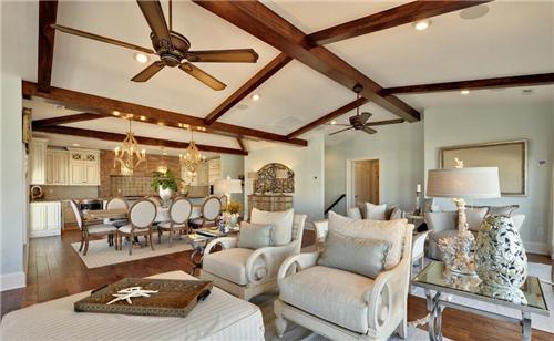 客厅吊顶造型效果图 打造与众不同的吊顶装修