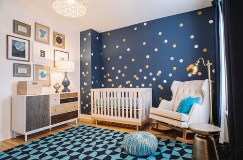 儿童房墙面装修效果图 房间墙面装修岂能只是环保