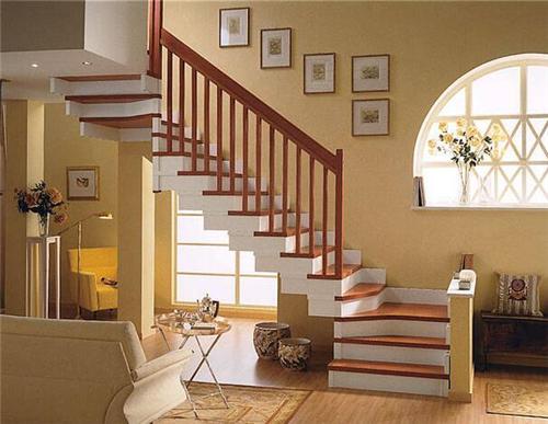 楼梯装修效果图 让楼梯成为家中的一道风景