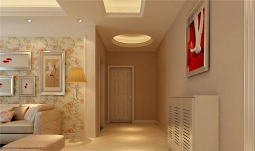 走廊吊顶效果图 小户型室内过道吊顶设计