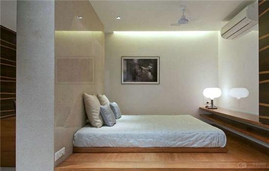 客厅卧室一体装修图片 小户型适合采纳