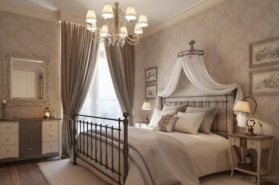 专为女人而设计 彼得堡简约欧式风格公寓