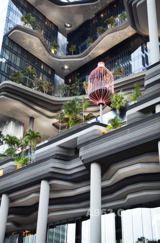 新加坡绿色空中花园设计图片
