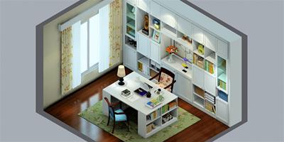 舒適柔軟書房的軟裝技巧