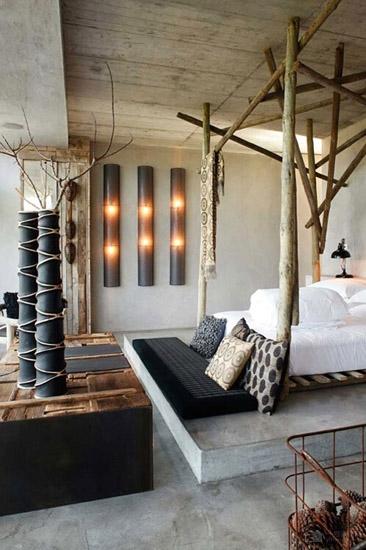 与自然共眠 卧室设计森系范走起