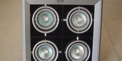 什麼是格柵射燈 格柵射燈的分類