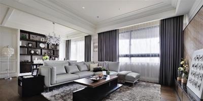 打開105㎡空間視野 讓一家三口擁有新古典小豪宅