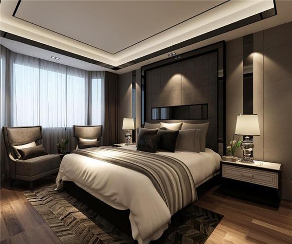 小户型样板房图片-卧室装修效果图