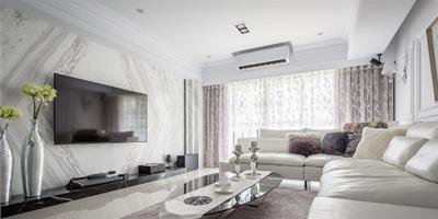 美、透、白 名媛級血統的90㎡新古典居宅