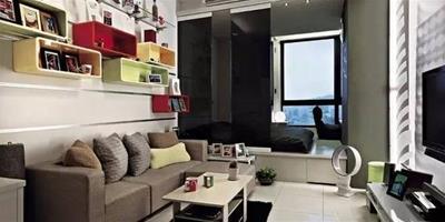 創意收納吸引眼球 60平簡約極品公寓