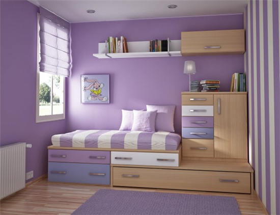 小户型组合床设计搭配 组合床小户型装修效果图