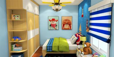 歐式風格兒童房設計欣賞