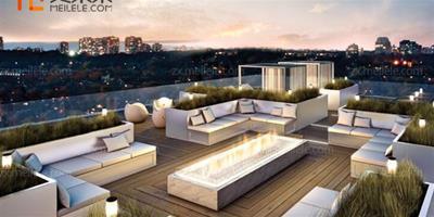 屋頂綠化設計效果圖,屋頂綠化要注意的地方