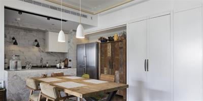 扭轉室內設計定義 古著居宅的個性混搭