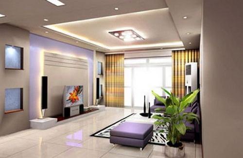 欧式电视背景墙   电视背景墙搭配tips:展示架可用来壁挂平板电视