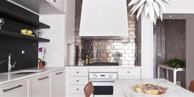 開放式廚房裝修案例 房子裝修設計案例