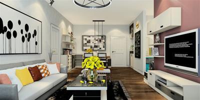 小戶型客廳沙發應該如何擺放