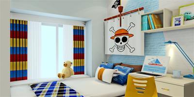兒童房的色彩搭配款式欣賞