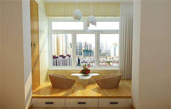 装修设计 精品案例   窄型小阳台:  像这样的窄型小阳台,在装潢时一定