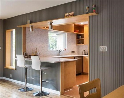 廚房小吧台裝修設計 廚房小吧台設計效果圖 愛我窩