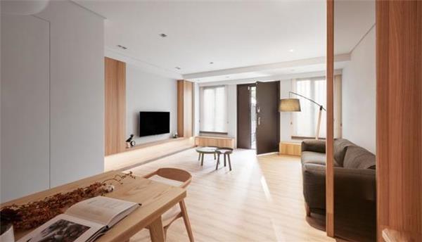 餐桌椅_豪而不土的日式風住宅 極簡主義的最高體現 - 愛我窩