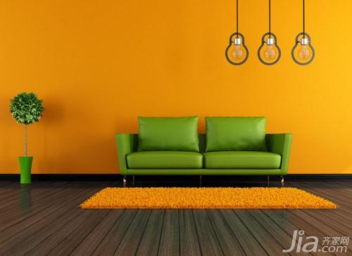 橙色配什麼顏色好看 家居橙色搭配風水 愛我窩